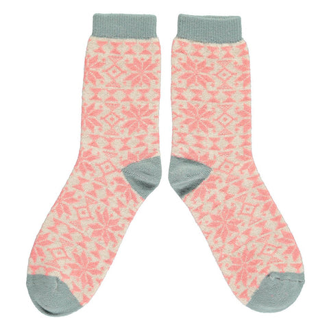 Women's Lambswool Ankle Socks