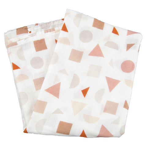 Shapes Swaddle Blanket