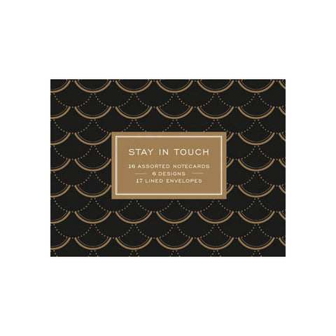 Modern Gold Greeting Card Set