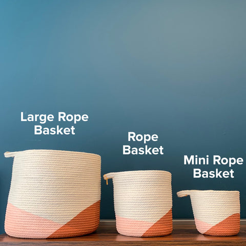 Large Rope Basket