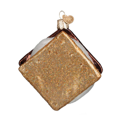 S'more Glass Ornament