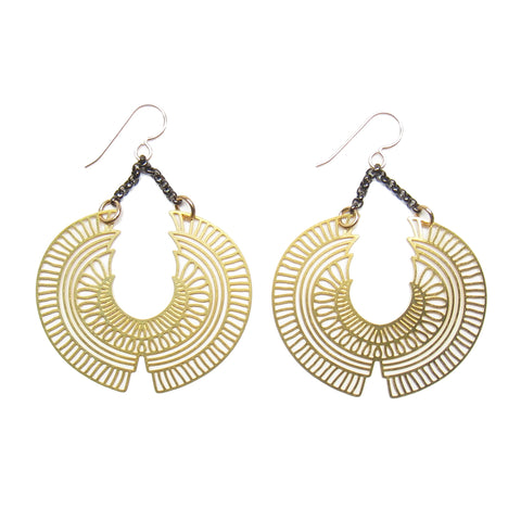 Nekhbet's Wings Earrings