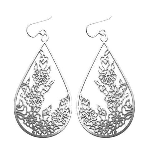 Pattern 7 Teardrop Earrings