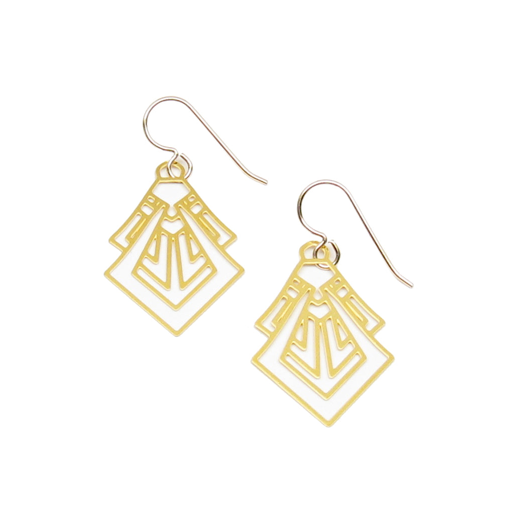 Small Art Deco Earrings