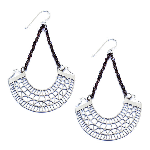 Patterned Collar Earrings