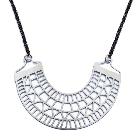 Patterned Collar Necklace