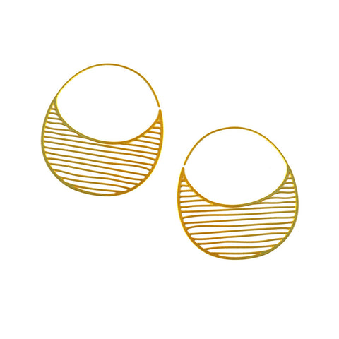 Tiny Pinstripe Hoops