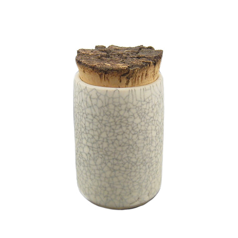 Crackle Spice Jar