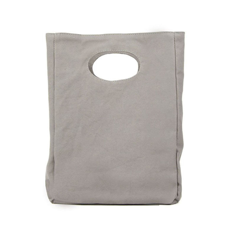 Blank Grey Lunch Bag