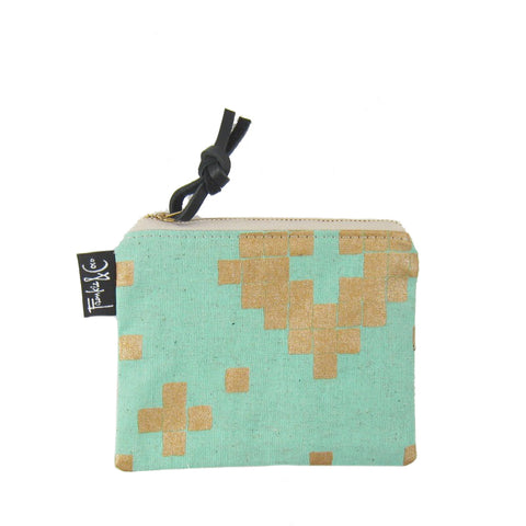 Small Pacific Zipper Pouch