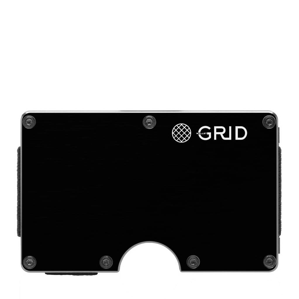 GRID Aluminum Money Clip Wallet