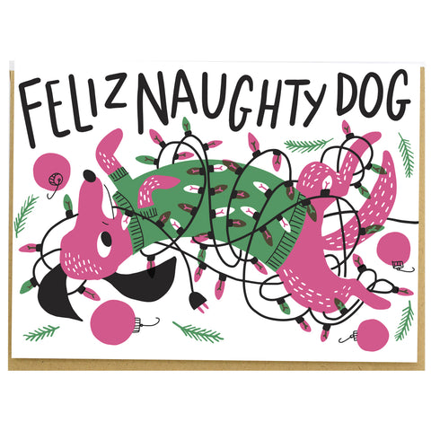 Feliz Naughty Dog Card Set