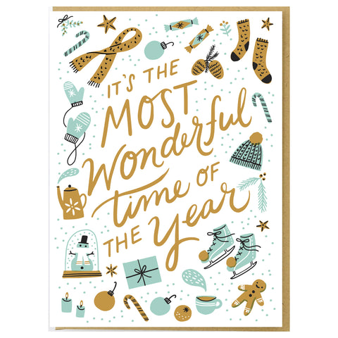 Most Wonderful Time Card Set