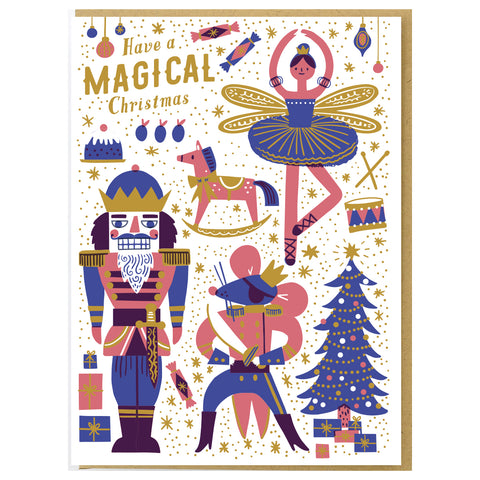 Nutcracker Christmas Card Set