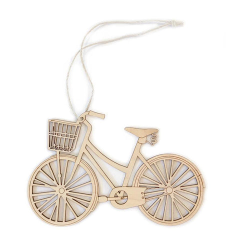 Basket Bike Ornament