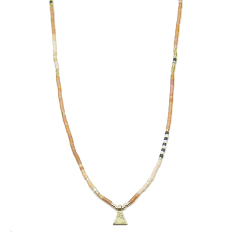 CLEARANCE - Long Dune Pattern Necklace V2