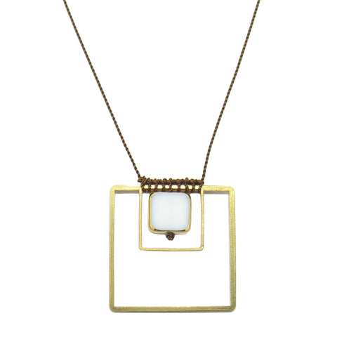 Albers Pendant Necklace