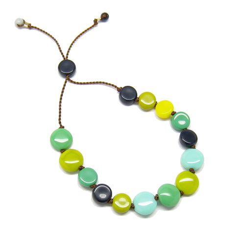 Multi Disc Bead Bracelet