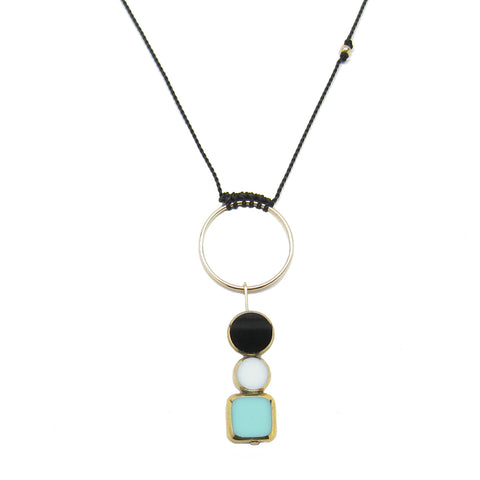 Square Stack Necklace