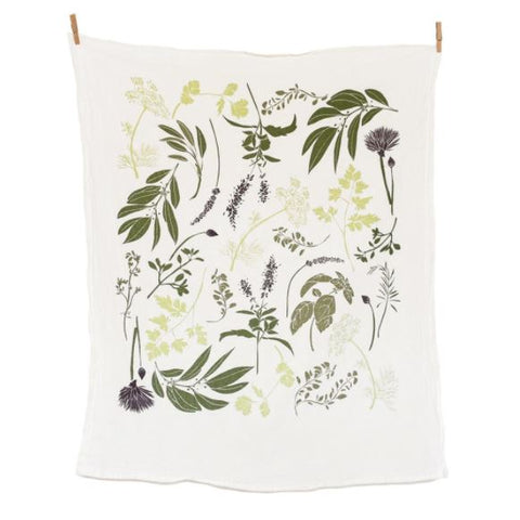 Herb Garden Kitchen Towel