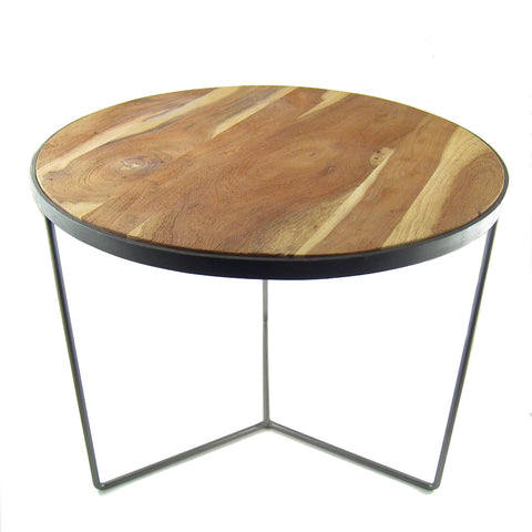 CLEARANCE - Kikar Wood Accent Table