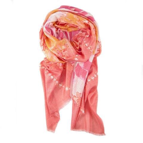 CLEARANCE - Tie Dye Print Scarf