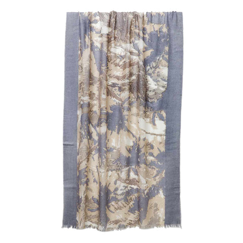 Tropical Camo Print Scarf