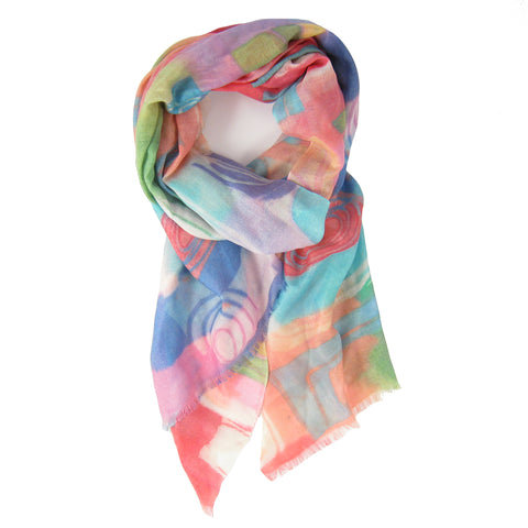 Pop Art Print Scarf