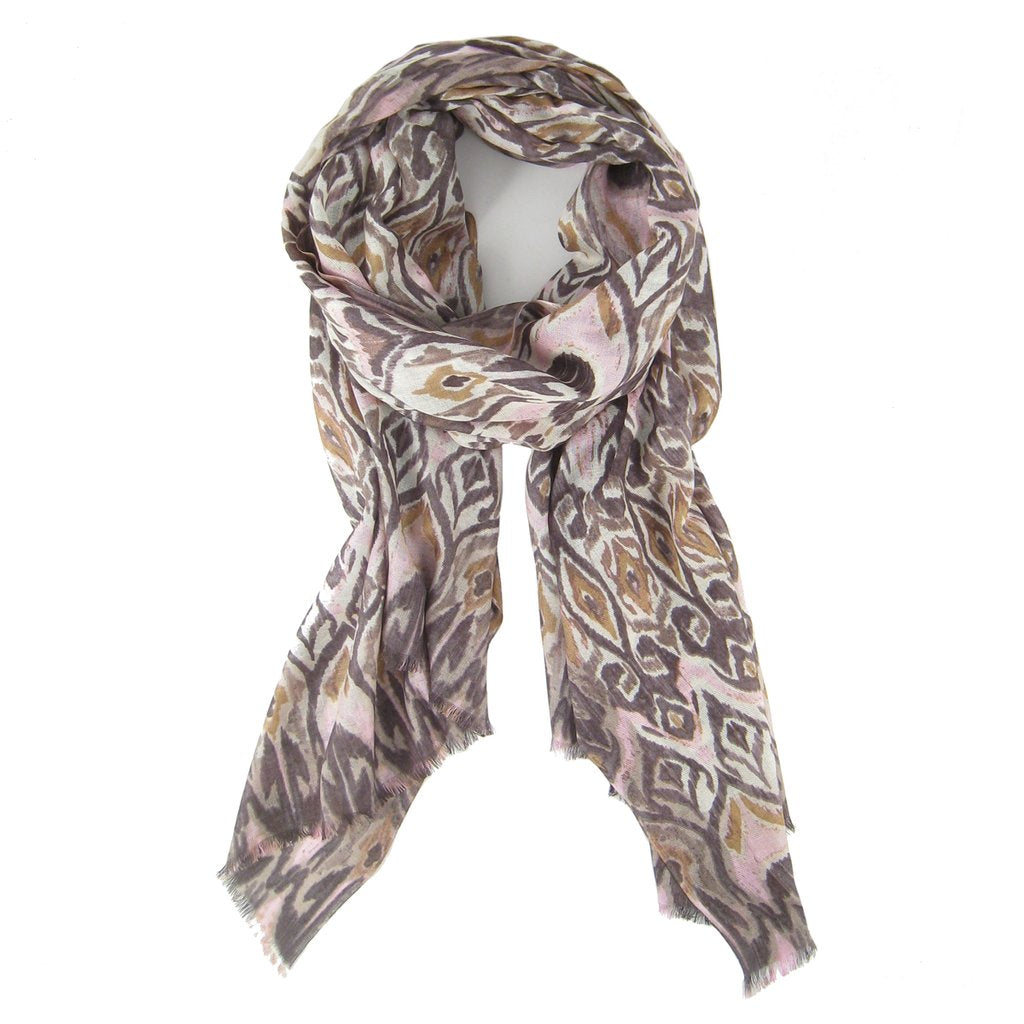 Tapestry Ikat Scarf