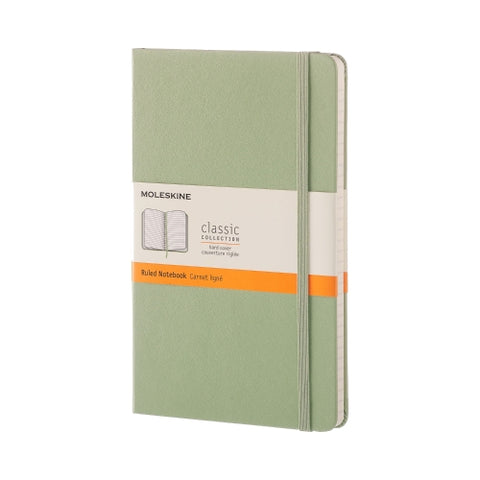 Classic Large Hardcover Ruled Notebook
