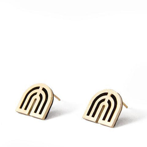 Swerve Stud Earrings