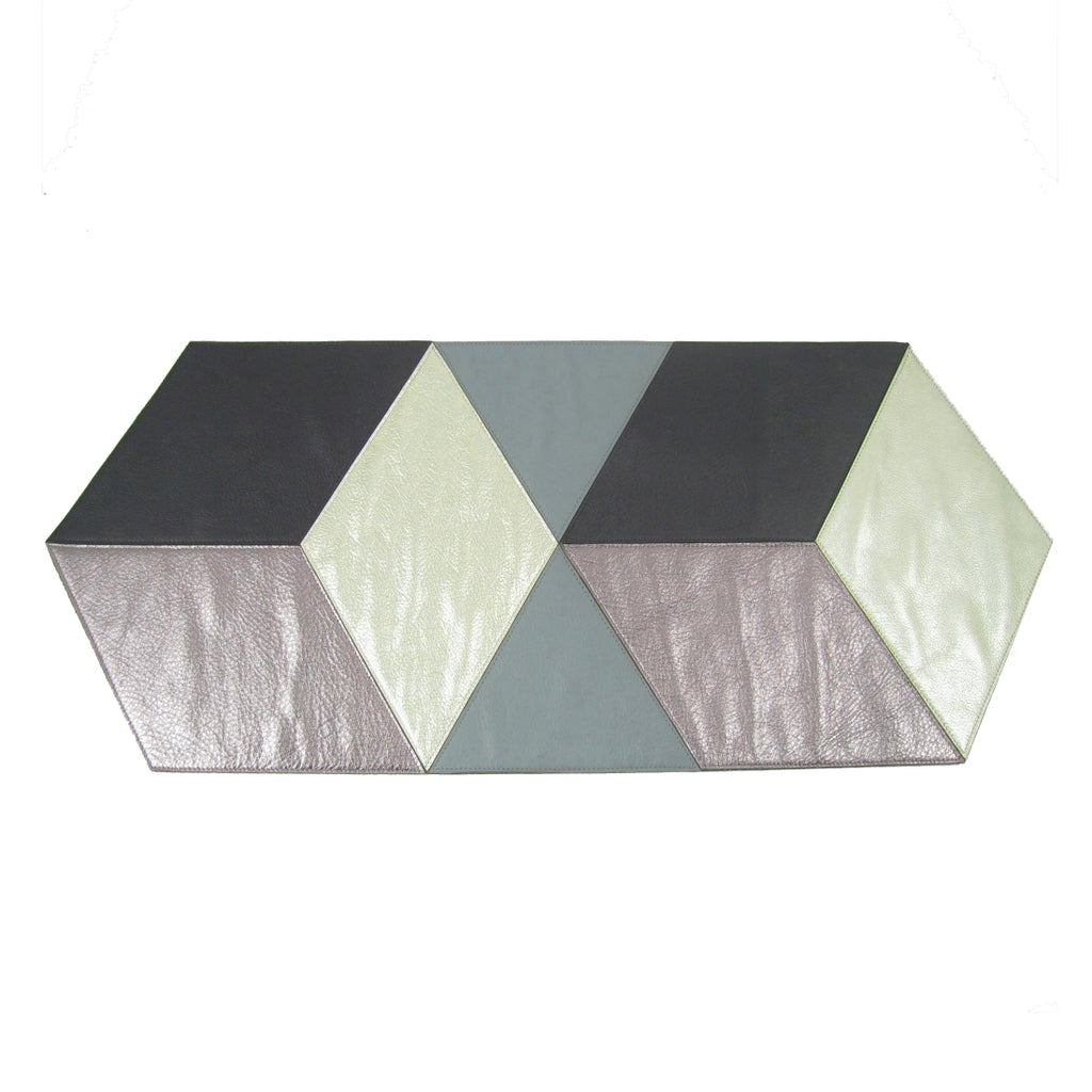 Color Bock Table Runner