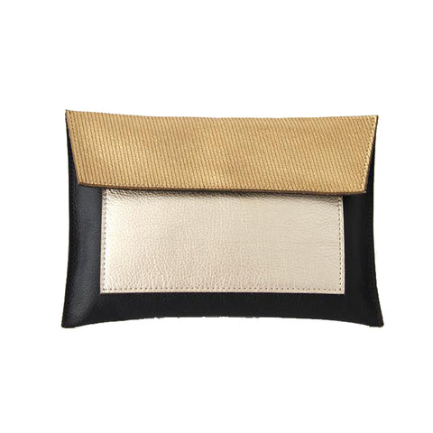 Color Block Pouch
