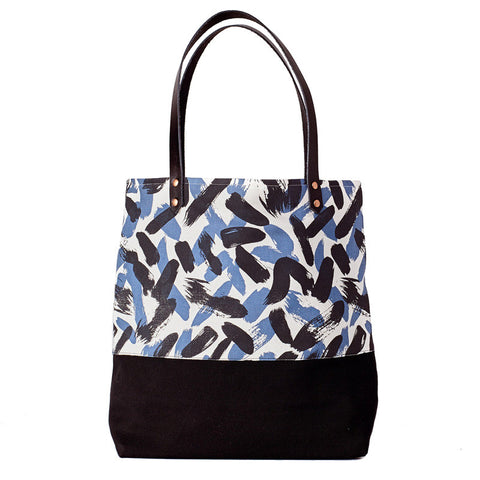 Painted Two Tone Tote