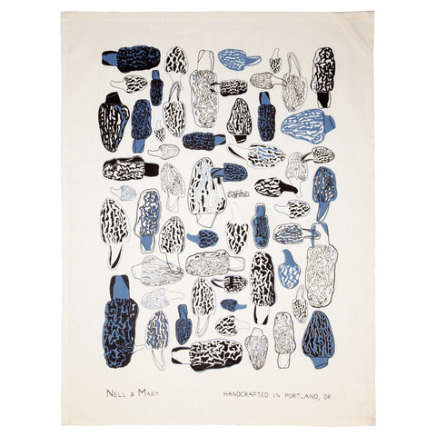 Morels Tea Towel