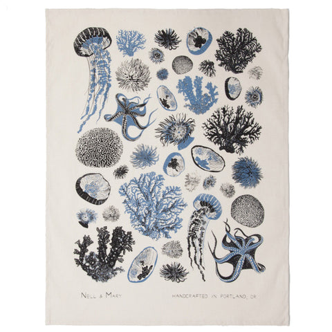 Oceanic Tea Towel