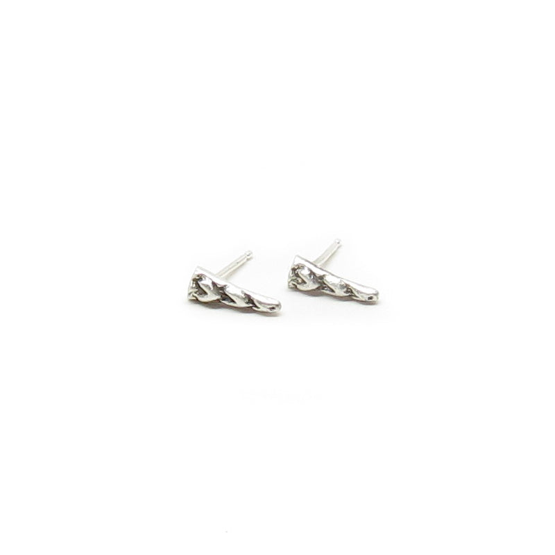Archer Small Textured Spike Post Earrings