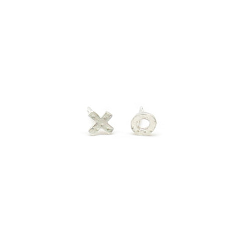 XO Post Earrings