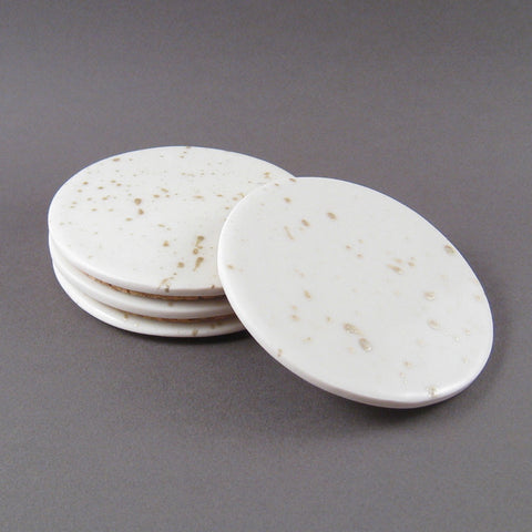 Round Splatter Coaster Set
