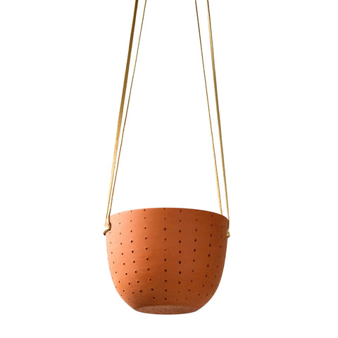 Perforated Terra-cotta Planter