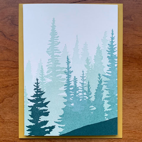 PNW Forest Card
