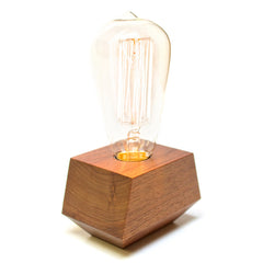 Boxcar Electric Lamp with Bulb