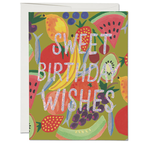 Fruity Birthday Card