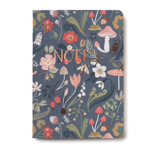 Forest Blue Notebook