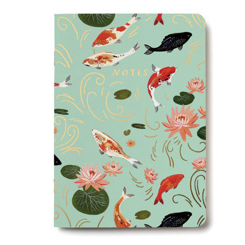Koi Fish Notebook