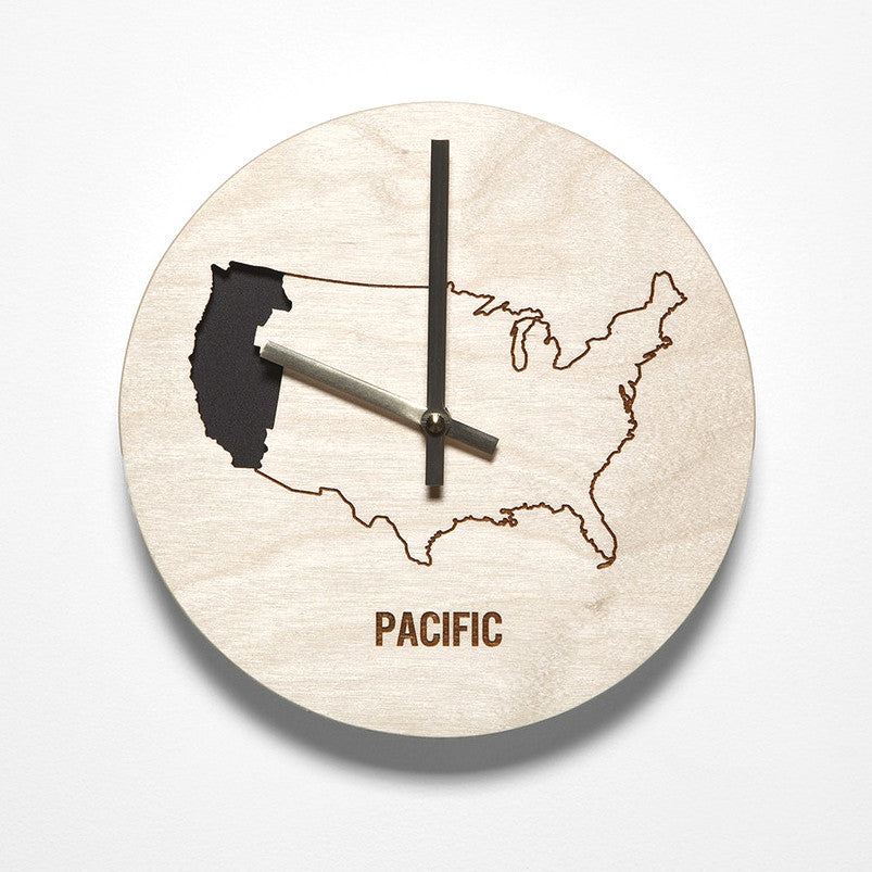 Pacific Time Zone Clock