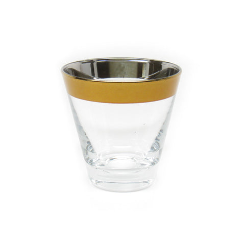 Gold Band Glass
