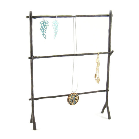 Bronze Twig Jewelry Stand