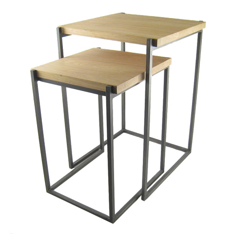 Finlay Oak Nesting Tables