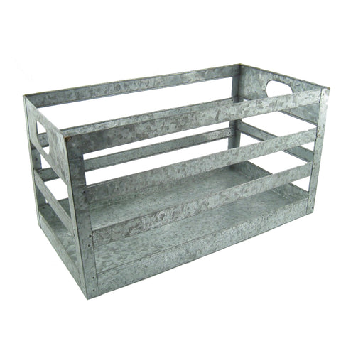 CLEARANCE - Steel Galvanized Crate